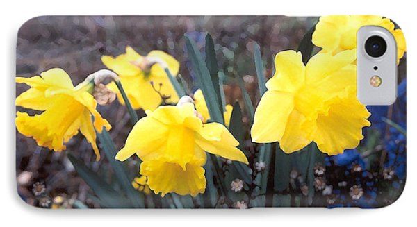 Trumpets Of Spring IPhone Case