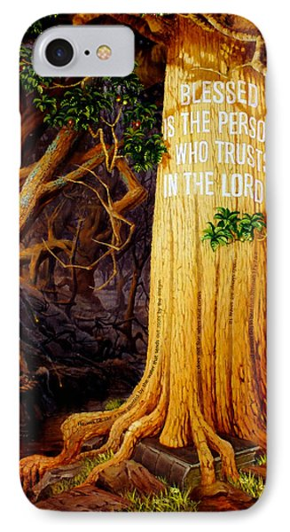 Trust In The Lord IPhone Case by Graham Braddock