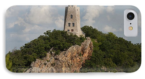 Tucker Tower In Summer IPhone Case