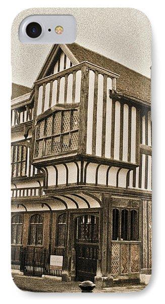 Tudor House Southampton Phone Case by Terri Waters
