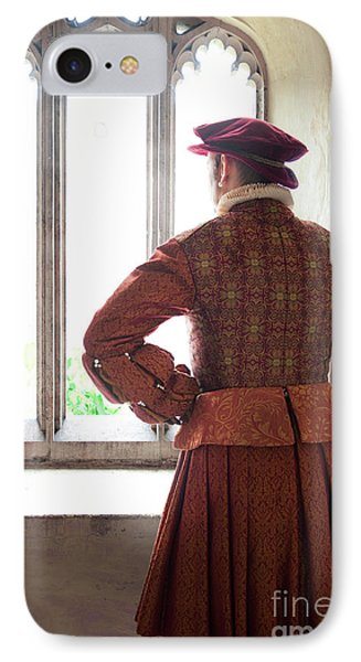 Tudor Man At The Window IPhone Case