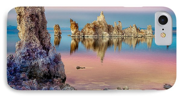 IPhone Case featuring the photograph Tufas At Mono Lake by Rikk Flohr