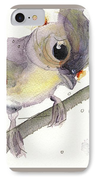 Tufted Titmouse IPhone Case by Dawn Derman