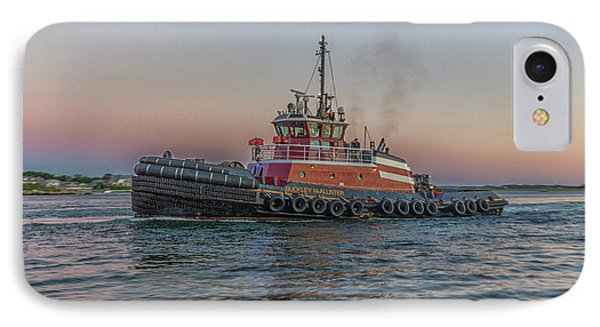 Tugboat Buckley Mcallister At Sunset IPhone Case