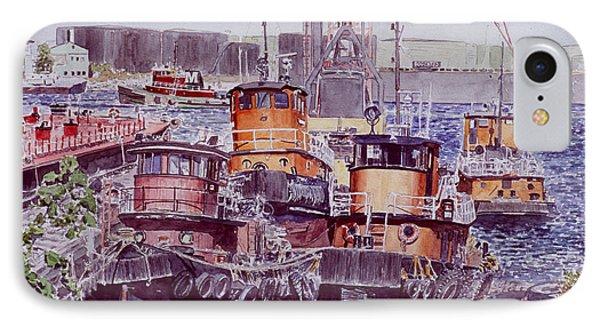 Tugboats Kill Van Kull Staten Island IPhone Case by Anthony Butera