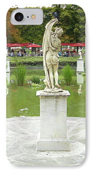 Tuileries Trollop IPhone Case