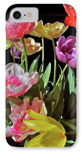 Tulip 8 IPhone Case by Pamela Cooper