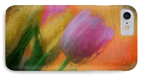 Tulip Abstraction IPhone Case