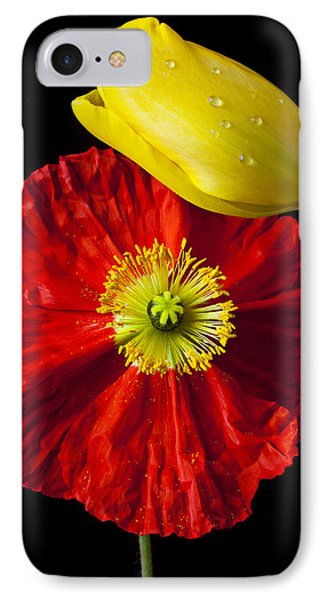 Tulip And Iceland Poppy Phone Case by Garry Gay