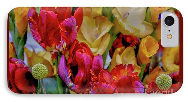 Tulip Bouquet IPhone Case by Sandy Moulder