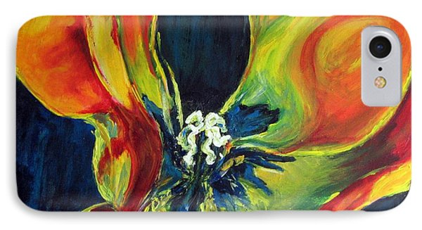 IPhone Case featuring the painting Tulip by Dragica  Micki Fortuna