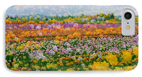 IPhone Case featuring the photograph Tulip Dreams by Tom Vaughan