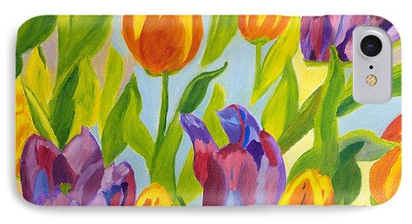 Tulip Fest IPhone Case by Meryl Goudey