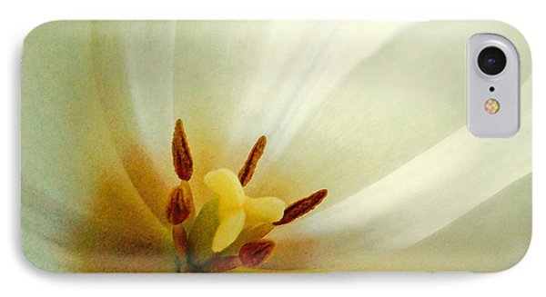 IPhone Case featuring the photograph Tulip Glow by Gwyn Newcombe