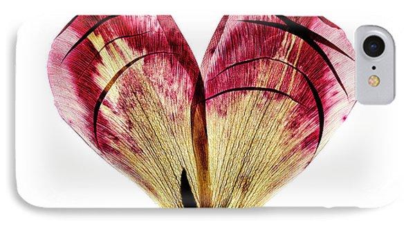 Tulip iPhone 7 Case - Tulip Heart by Nailia Schwarz