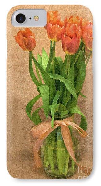 Tulip Impasto IPhone Case