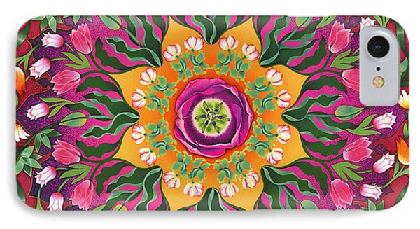 Tulip Mania 2 Phone Case by Isobel  Brook Haslam