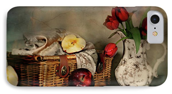 Basket And All IPhone Case by Diana Angstadt