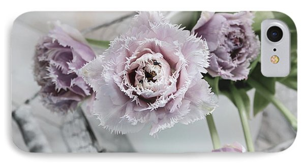 IPhone Case featuring the photograph Tulip Ruffles by Kim Hojnacki