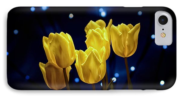Tulip Twinkle IPhone Case by Tom Mc Nemar