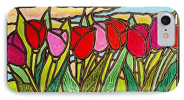 Tulips At Sunrise IPhone Case