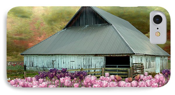 Tulips In Skagit Valley IPhone Case