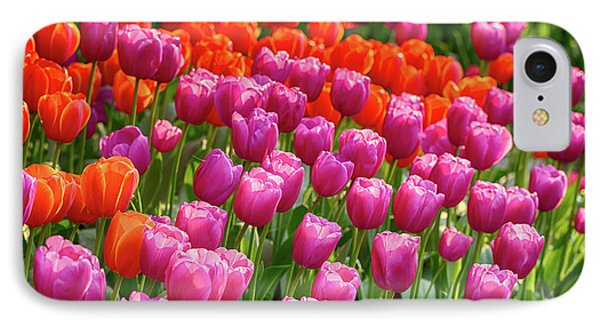 IPhone Case featuring the photograph Tulips Mean Spring by Mary Jo Allen