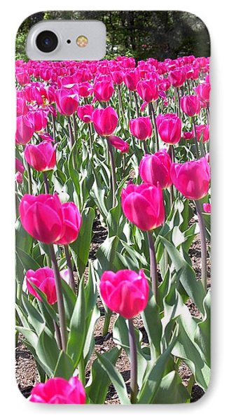 IPhone Case featuring the photograph Tulips by Mary-Lee Sanders