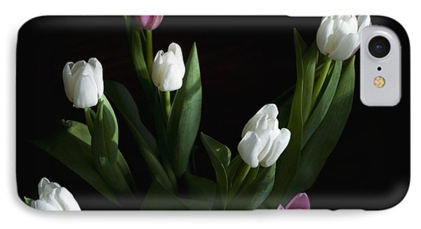 Tulips IPhone Case by Rhonda McDougall