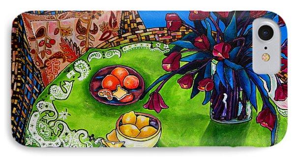 Tulips Sea Side Phone Case by Patti Schermerhorn