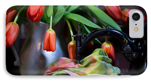 IPhone Case featuring the photograph Tulips by Sharon Jones