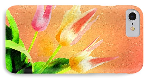 Tulips Three Phone Case by Anthony Caruso
