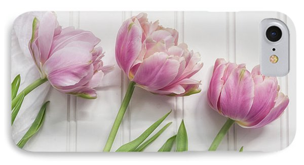 IPhone Case featuring the photograph Tulips Three by Kim Hojnacki