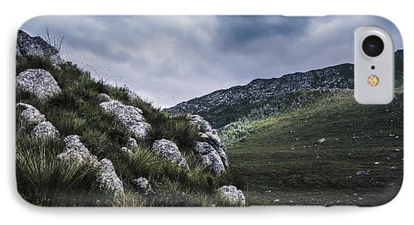 Tullah And Queenstown Rock Valley Landscape  IPhone Case by Jorgo Photography - Wall Art Gallery