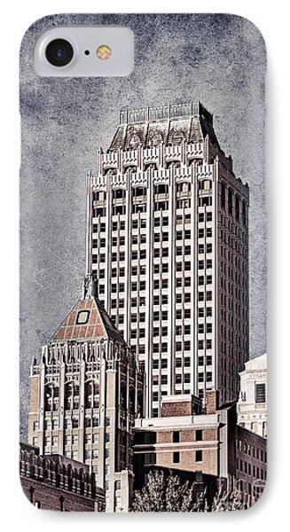 Tulsa Art Deco I Phone Case by Tamyra Ayles