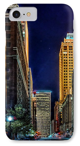 Tulsa Nightlife IPhone Case by Tamyra Ayles
