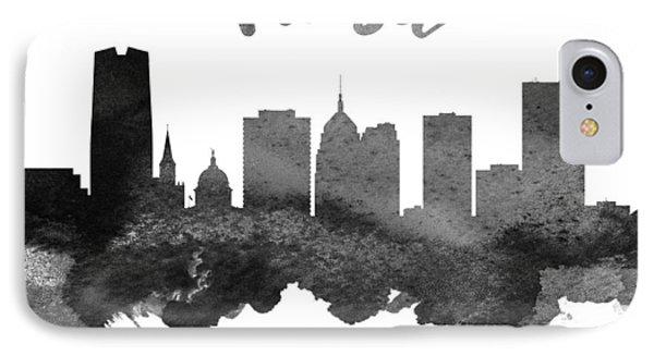 Tulsa Oklahoma Skyline 18 IPhone Case by Aged Pixel