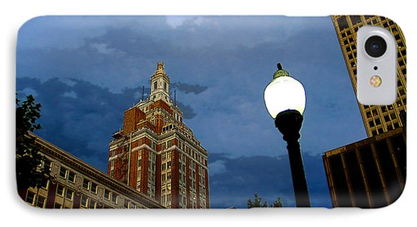 Tulsa Streetscape IPhone Case