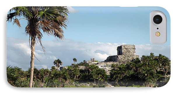IPhone Case featuring the photograph Tulum Mexico by Dianne Levy