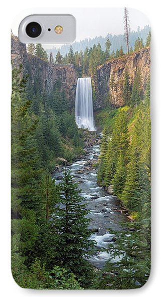 Tumalo Falls In Bend Oregon Phone Case by David Gn