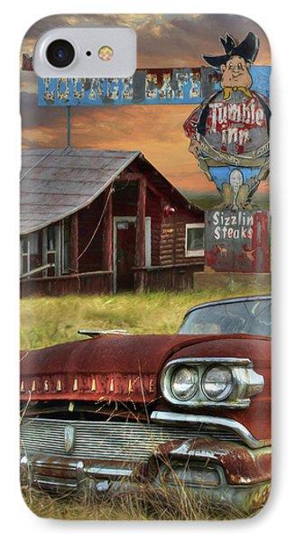 Tumble Inn IPhone Case by Lori Deiter
