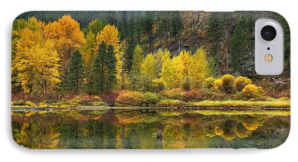 Tumwater Reflections IPhone Case by Lynn Hopwood