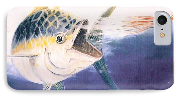 Tuna To The Lure Phone Case by Bill Hubbard