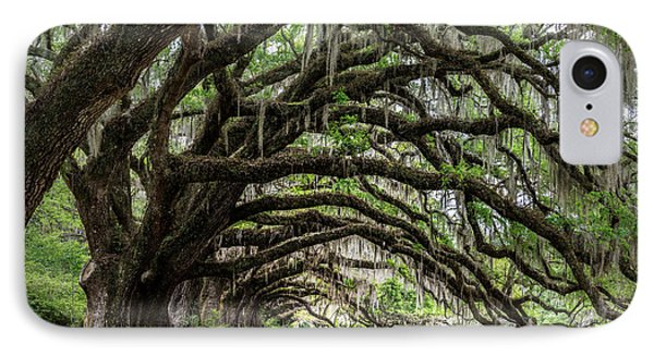 IPhone Case featuring the photograph Tunnel In Charleston by Jon Glaser