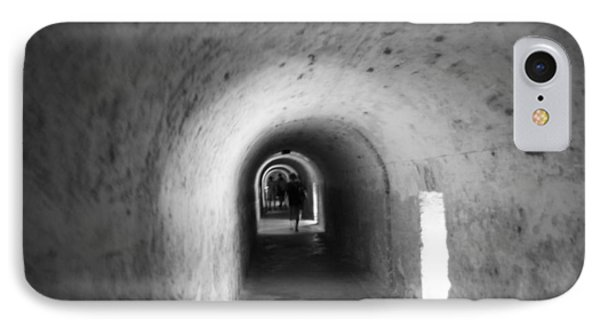 Tunnel In San Cristobal IPhone Case by Lois Lepisto