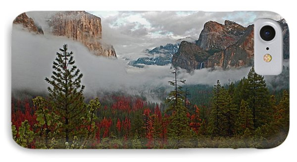 IPhone Case featuring the photograph Tunnel View 12 2016 by Walter Fahmy