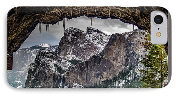 Tunnel View From The Tunnel IPhone Case by Bill Gallagher
