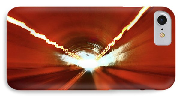 IPhone Case featuring the photograph Tunnel Vision by Gray  Artus
