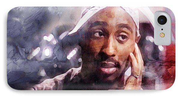 Tupac 321006 IPhone Case