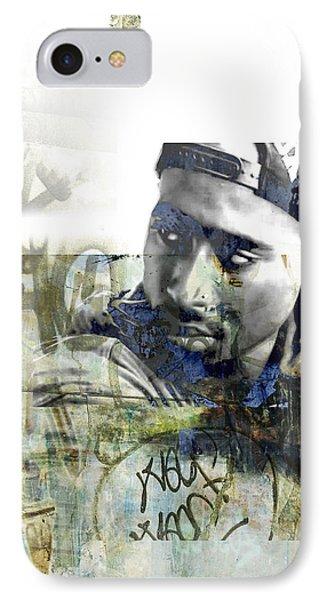Tupac Graffitti 777 IPhone Case